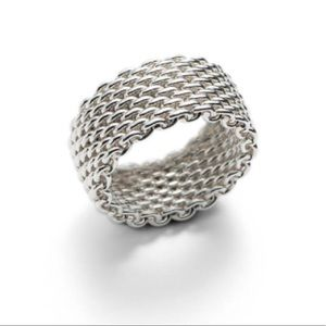Tiffany & Co Chain Link Ring